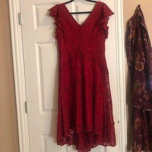 Dresses & Skirts - romantic red dress
